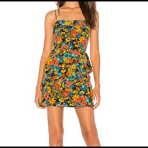 Lovers and Friends x Revolve Claudia Floral Dress
